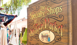 Old Town Market, San Diego, California. Open air marketplace in Old Town Market, San Diego, California Stock Images