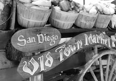 Old Town Market, San Diego, California. Open air marketplace in Old Town Market, San Diego, California Stock Image