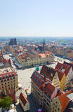 Market square in Wroclaw, Poland Stock Photo