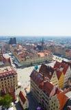 Market square in Wroclaw, Poland Stock Photo
