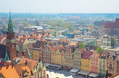 Old town market square , Wroclaw royalty free stock photo