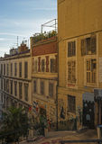 In the old town of Marseille in France Stock Photos
