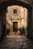 Old town. Matera. Basilicata. Apulia or Puglia. Italy. Picturesque corner in the old town. Matera. Basilicata. Apulia or Puglia . Italy royalty free stock photography