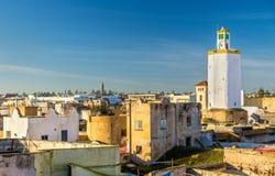 The old town of Mazagan, El Jadida, Morocco. View of the old town of Mazagan, El Jadida, Morocco stock image