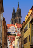 Old Town in Meissen Stock Image