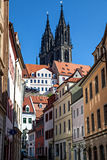 Old town Meissen Stock Photography