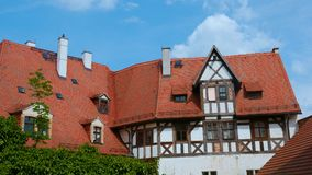 Old town in Meissen Royalty Free Stock Photos