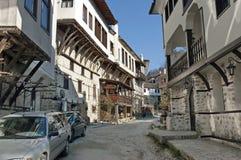 Old town Melnik Stock Photo