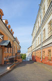 Old town in Minsk, Belarus Stock Photo