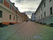 Old town Minsk royalty free stock photography