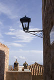 Old town of monemvasia in greece Royalty Free Stock Photography