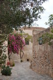 Old town Monemvasia. Lovely street in old town Monemvasia Royalty Free Stock Photos