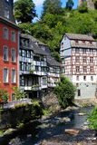 The Old Town of Monschau Royalty Free Stock Photography