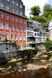 The Old Town of Monschau Royalty Free Stock Photos