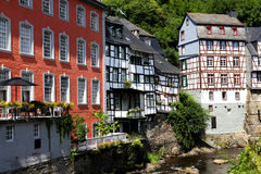 The Old Town of Monschau Stock Image