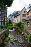 The old town of Monschau in Germany Royalty Free Stock Image