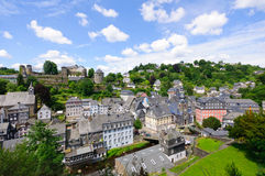 The old town of Monschau in Germany Royalty Free Stock Photos