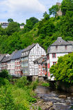 The old town of Monschau in Germany Stock Images