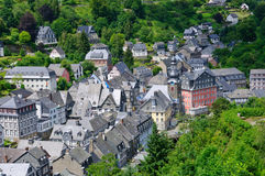 The old town of Monschau in Germany Royalty Free Stock Images