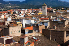 Old town of Montblanc, Spain Stock Photography