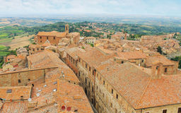 Old town Montepulciano, Tuscany, Italy Royalty Free Stock Photography