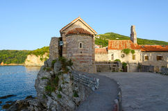 The Old town in the morning, Budva, Montenegro Royalty Free Stock Photo