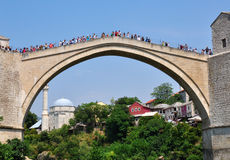 Old town of Mostar, Bosnia Royalty Free Stock Photo