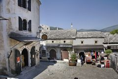 Old town of Mostar. Bosnia and Herzegovina.  Stock Photography