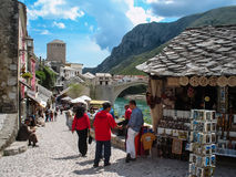Old town in Mostar, Bosnia and Herzegovina Stock Images