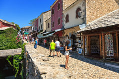 Old Town in Mostar Royalty Free Stock Photo