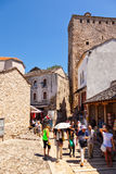 Old Town in Mostar Stock Photography