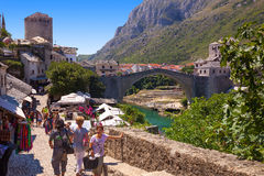Old Town in Mostar Stock Photos