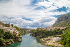 Old Town of Mostar Stock Photography