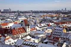 Old town of Munich Germany Stock Image