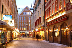 Old town in Munich.  Royalty Free Stock Images
