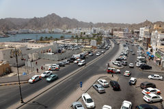 The old town of Muscat - Mutrah Stock Photos