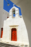 Old town on Mykonos island, Cyclades, Greece Stock Photos
