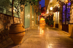 Old town in Nafplio, Greece. Stock Images
