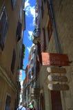 Old Town narrow street,Kotor,Montenegro Stock Images