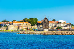 Old Town of Nesebar in Bulgaria by the Black sea Royalty Free Stock Images