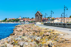 Old Town of Nesebar in Bulgaria by the Black sea Royalty Free Stock Photo