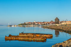 Old town of Nesebar Royalty Free Stock Photos