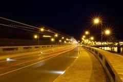 The old town of Nesebar at night, Bulgaria Stock Image