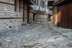 Old Town Nessebar Lovely Streets Horizinontal Royalty Free Stock Images
