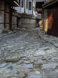 Old Town Nessebar Lovely Streets Vertical Royalty Free Stock Images