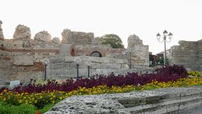 Old town of Nessebar is UNESCO stock video