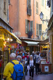 Old town in Nice Royalty Free Stock Photos