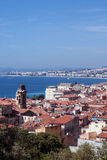 Old town of Nice, France royalty free stock images