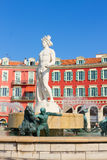 Old town of Nice, France Stock Images