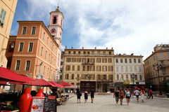 Old Town in Nice, France Royalty Free Stock Photos